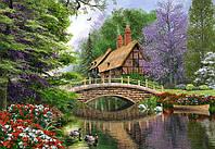 """Пазлы """"Castorland"""" 1000шт (102365) 68*47 см (Дом на реке)"""