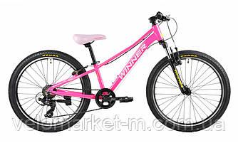 "Велосипед 24"" WINNER BETTY pink 2020"