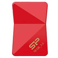 USB флеш накопитель Silicon Power 16Gb Jewel J08 Red USB 3.0 (SP016GBUF3J08V1R)