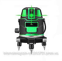 Лазерный уровень нивелир DEKO 5 зеленые линии (UDJLD89D)