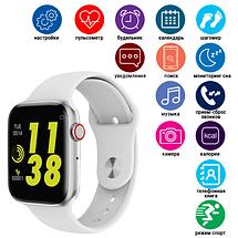Фитнес браслет трекер Smart Watch C500 Умные спортивные смарт часы с микрофоном для здоровья влагозащита IP67, фото 3