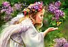 Пазлы Castorland 103034 Ангелочек с бабочкой