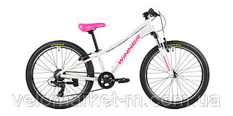 "Велосипед 24"" WINNER BETTY white 2020"