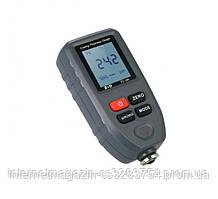 Толщиномер TC100-grey Fe/NFe, до 1300 мкм (комплект стандарт)  + батарейка