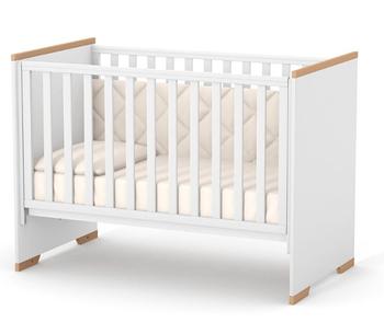 Детская кроватка Верес ЛД9 Сиетл Бело-буковый