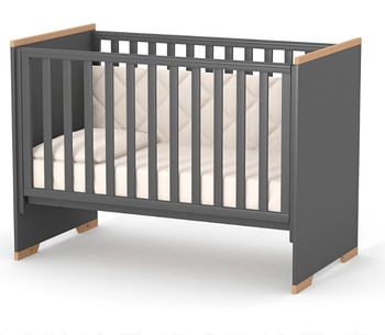 Детская кроватка Верес ЛД9 Сиетл Темно-Серый