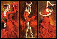 """Пазлы """"Castorland"""" 1000шт (103119) 68*47 см (Танцовщица в красном)"""