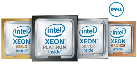 Процесори Intel і AMD для серверів Dell