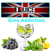 T-Juice Gins Gins Addiction 5 мл.