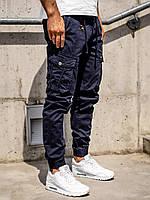Мужские брюки джоггеры карго СИНИЕ Vingvgs Размер 27
