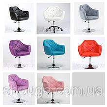 Перукарське або косметичне крісло код 830 колір на вибір з каталогу