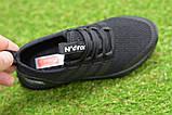 Детские кроссовки аналог адидас черные adidas Runfalcon Black р31-35, фото 3