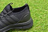 Детские кроссовки аналог адидас черные adidas Runfalcon Black р31-35, фото 7