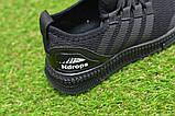 Детские кроссовки аналог адидас черные adidas Runfalcon Black р31-35, фото 4