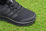 Детские кроссовки аналог адидас черные adidas Runfalcon Black р31-35, фото 6