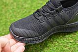 Детские кроссовки аналог адидас черные adidas Runfalcon Black р31-35, фото 5
