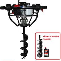 Мотобур Vulkan GD620 / бензиновий, 2.4 кВт Масло и шнек 200mm в подарок