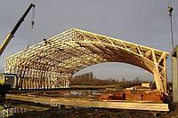 Стропильная система крыши заводского изготовления