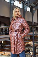 Стильне жіноче пальто в 3х кольорах ПВ-216 кор