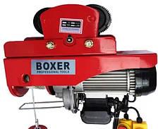 Тельфер электрический 500/1000кг передвижной с кареткой BOXER ВХ-564 3000W