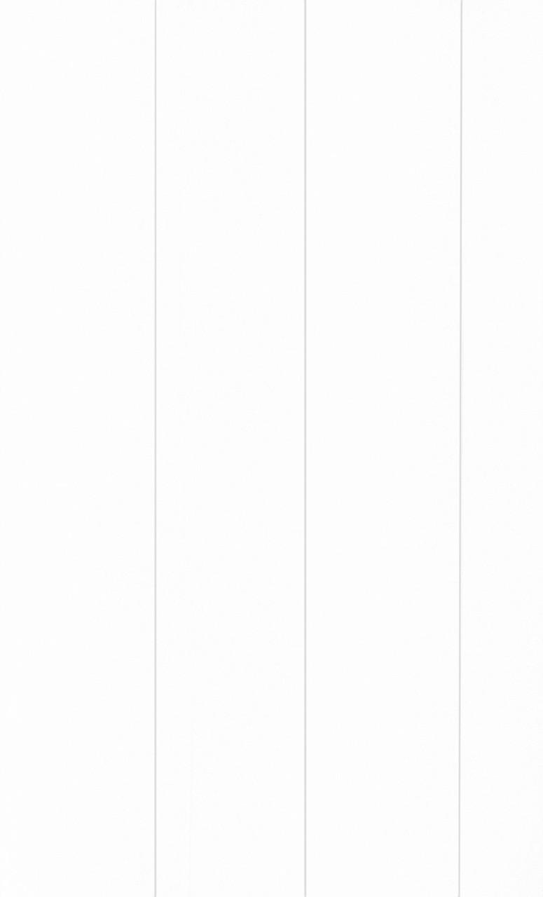 """МДФ-панель (Вагонка) 2600х148мм """"Белый классический"""" """"Стандарт"""" Омис"""