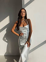 Плаття-комбінація, щільний шовк (не світить), відмінна якість, розміри: S, M