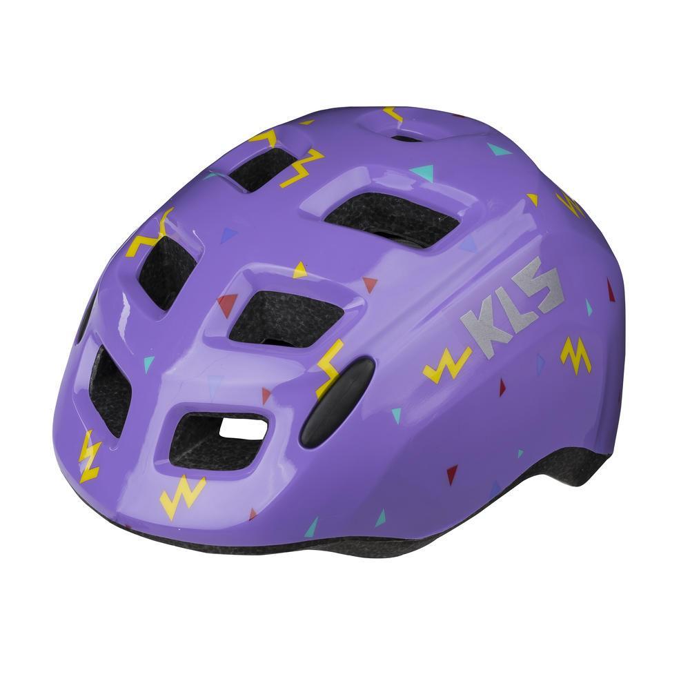 Шолом KLS Zigzag фіолетовий
