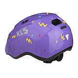 Шолом KLS Zigzag фіолетовий, фото 2