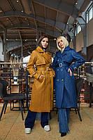 Стильне жіноче пальто в 5 кольорах ПВ-236