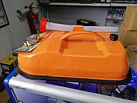 Канистра для лодок горизонтальная 10л метал с лейкой