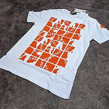 Мужская футболка Bikkembergs CK2010 белая
