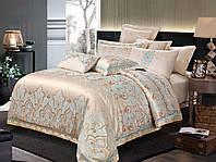Комплект постельного белья двуспальный Жаккард+сатин 180*220 Krispol (820.031)