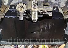 Захист двигуна Fiat Doblo I (223) 2000-2014 з боковими пластинами (двигун+КПП+радіатор)