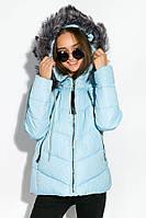 Стильная демисезонная женская куртка на синтепоне