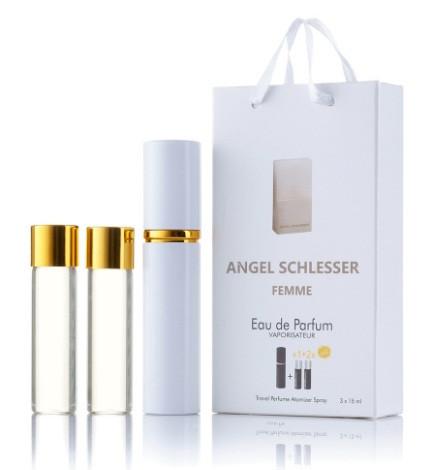 Мини-парфюм с феромонами женский ANGEL SCHLESSER Femme 3х15 мл