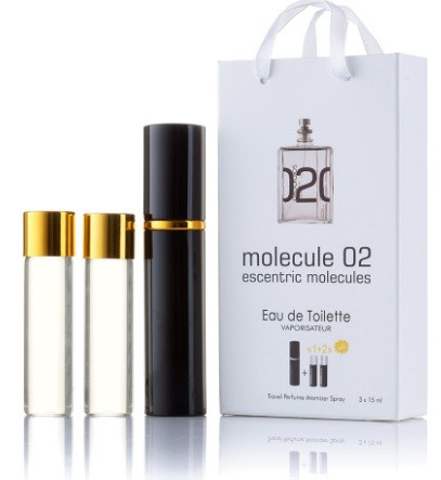 Мини-парфюм с феромонами унисекс ESCENTRIC MOLECULES Escentric 02 3х15 мл
