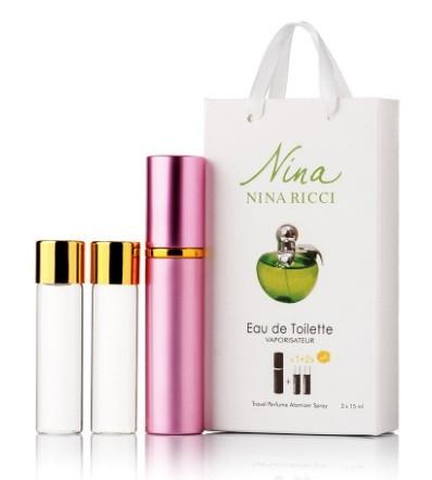 Nina Ricci Plain edp 3х15ml мини в подарочной упаковке