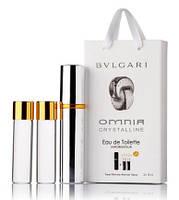 Bvlgari Omnia Crystalline edp 3x15ml мини в подарочной упаковке