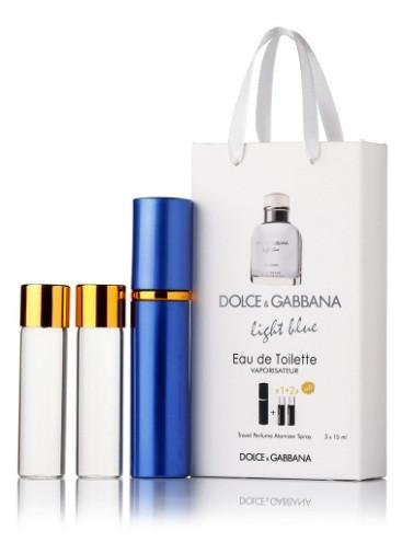 Dolce and Gabbana Light Blue pour Homme 3x15ml міні