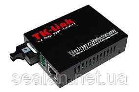 Медиаконвертер TK-link 10/100mb 1310 1SC.WDM+1RJ45