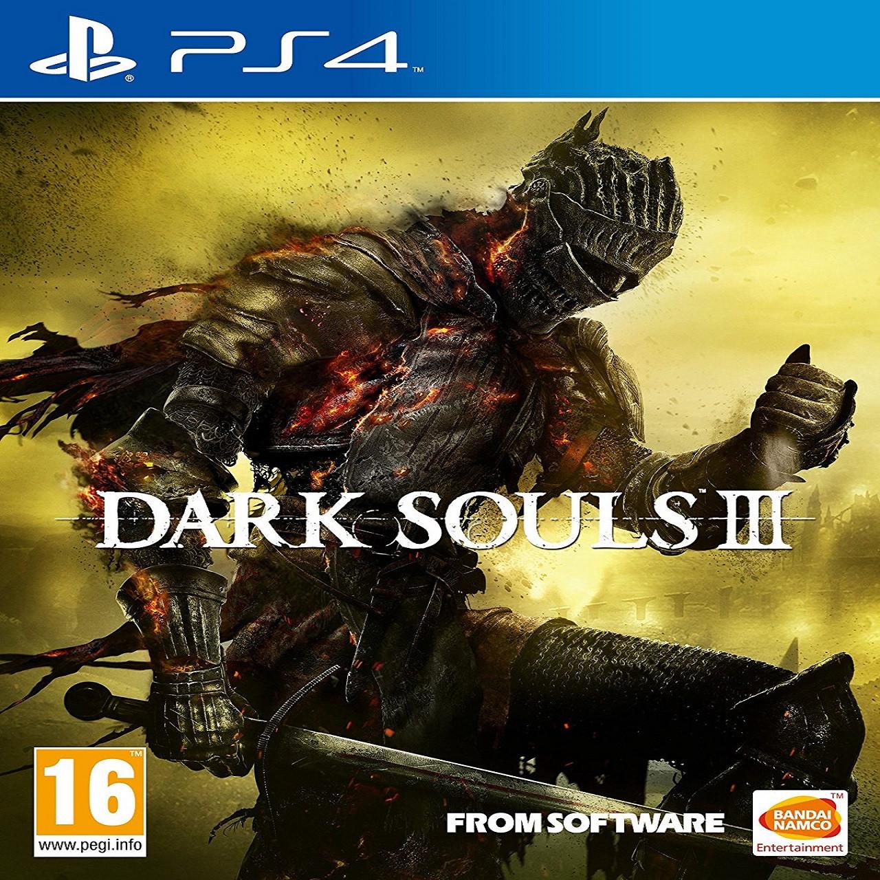 Dark Souls III (русские субтитры) PS4  (Б/У)