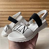 Босоніжки дитячі Jong Golf (32-37) Білі для дівчаток