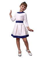"""Платье нарядно - повседневное для девочки М-1027-1 рост от 116 до 170 тм """"Попелюшка"""", фото 1"""
