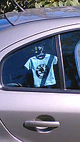 Мини-футболка подвеска в авто