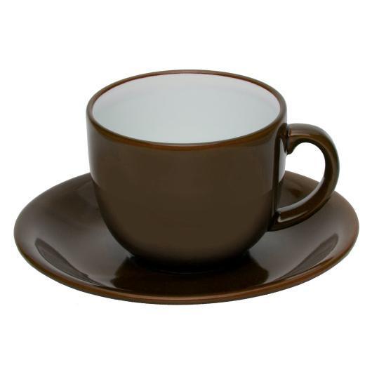 Чашка з блюдцем ALPINA 250 мл для друку логотипу