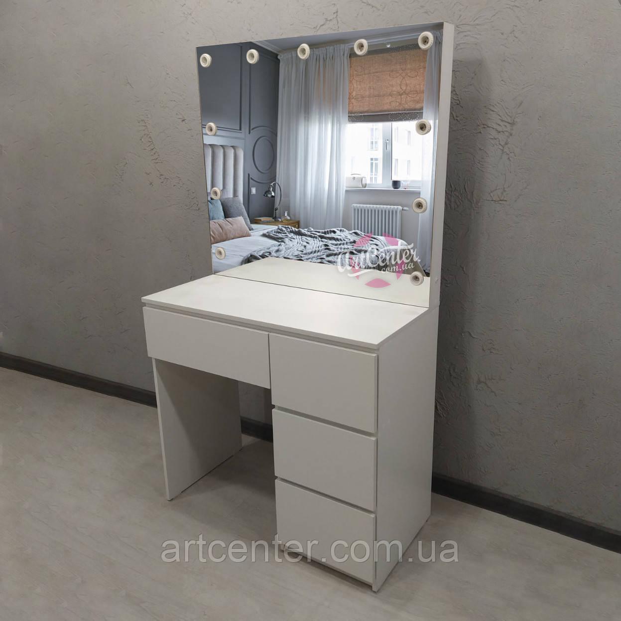Стіл для візажиста, стіл для макіяжу з дзеркалом