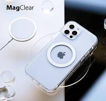 Чехол Clear Case with MagSafe Magnetiс  для iPhone 12 5.4 Прозрачный