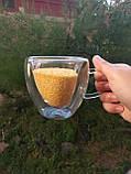 Чашка с двойными стенками DS Сердце с двойным дном 220 мл, фото 7