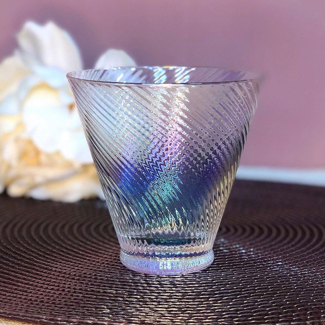 Набір склянок DS Nacre 225 мл 4 шт Перламутровий