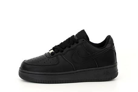 Мужские кроссовки Air Force 1 Low All Black, фото 2